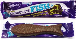 The Chocolate Fish is a Kiwi delicacy!